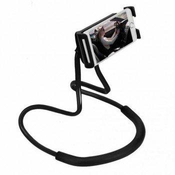 LAZY NECK Portable Flexible Tripod Stand μαυρο