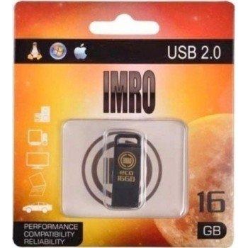 IMRO USB Flash Drive 16GB  Μαύρο
