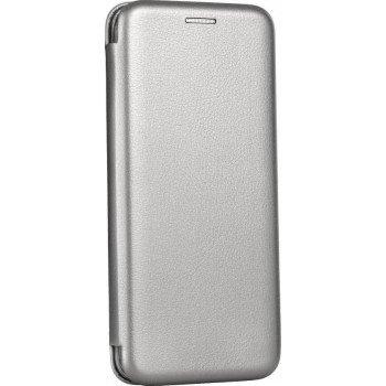 OEM Θήκη Βιβλίο Smart Magnet Elegance Για Samsung Galaxy A8 plus 2018 γκρι