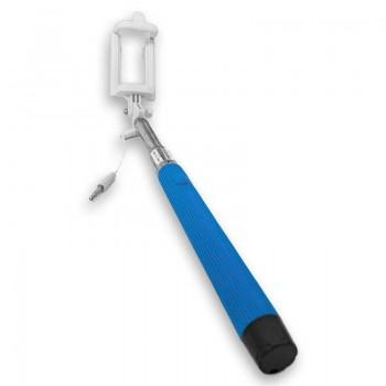 OEM Selfie Stick Με Καλώδιο Μπλε (235)