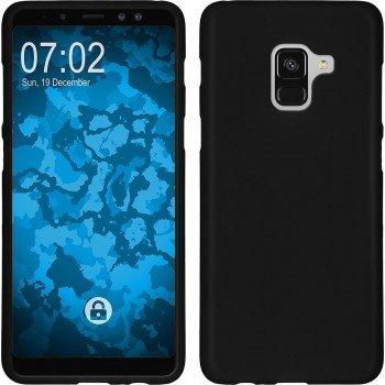 OEM Θήκη Σιλικόνης matt Για Samsung Galaxy A8 2018 Μαύρη
