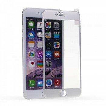 Full Face Tempered glass / Αντιχαρακτικό Γυαλί Πλήρους Οθόνης 3D Για Apple Iphone 6/6S Plus Ασημί