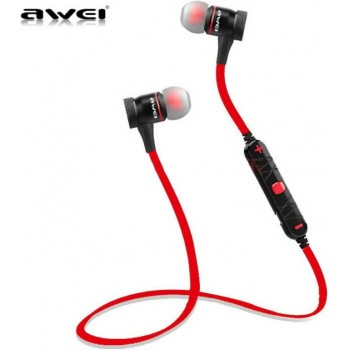 Awei Ασύρματα ακουστικά Bluetooth Αθλητισμού AWEI A920BL Κόκκινο
