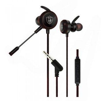 Oem Gaming Ακουστικά GM-D2 Audio Mix με 3.5mm Jack για Pc / Κινητά / Tablets Μαύρο
