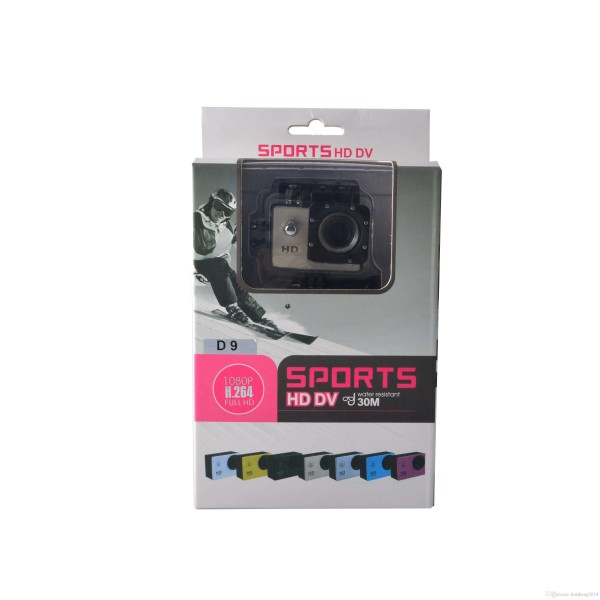 "Action Camera Go Pro Sport Camera 1080P VIDEO HD DV 1.5"" LCD Screen water resistant 30m"