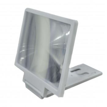 OEM Βάση Κινητού - Μεγένθυση Οθόνης Λευκή (F3)