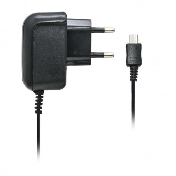 Forever Φορτιστής Ταξιδίου Micro USB Για V8 400mA Μαύρος Αξεσουάρ