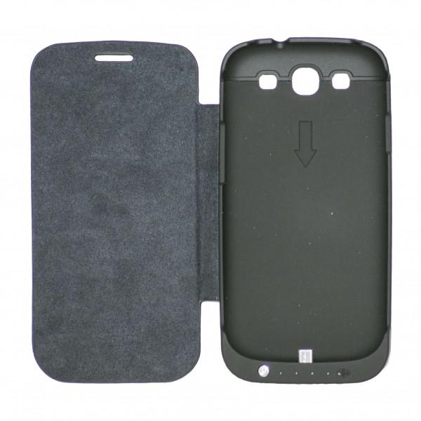 OEM Power Bank - Θήκη 3200mAh Για Samsung Galaxy S3 Μαύρο Αξεσουάρ