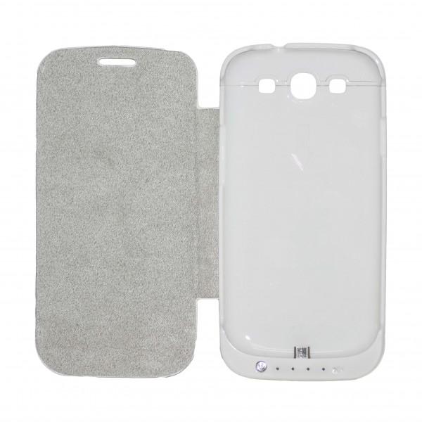 OEM Power Bank - Θήκη 3200mAh Για Samsung Galaxy S3 Άσπρο Αξεσουάρ