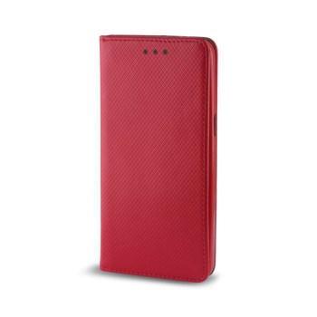 Oem Θήκη Βιβλίο Smart Magnet Για Huawei Y7 2019 Κόκκινη