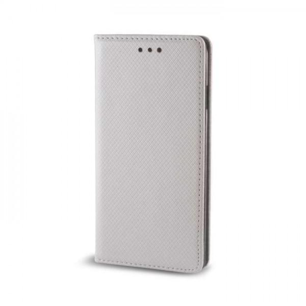 OEM Θήκη Βιβλίο Smart Magnet Για Apple Iphone 7 Ασημί