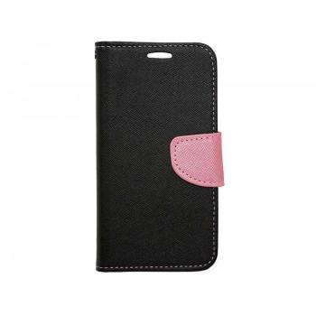 OEM Θήκη Βιβλίο Fancy Για Apple iPhone 7 / 8 / Se 2020 Μαύρο-Ροζ