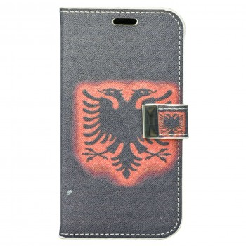 OEM Θήκη Βιβλίο Για Samsung Galaxy S4 Με Σχέδιο Αλβανική Σημαία