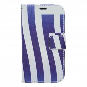OEM Θήκη Βιβλίο Για Samsung Galaxy Grand/Neo Σχέδιο Ελληνική Σημαία