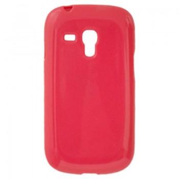 OEM Θήκη Σιλικόνης  Για  Samsung Express/i8730  Κόκκινη