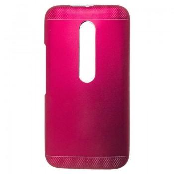 OEM  Θήκη Μεταλλική Για Motorola G3/G2015 Ροζ
