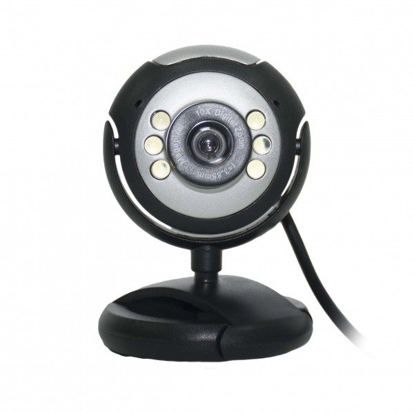 OEM Webcam Μαύρη (P15&P16)