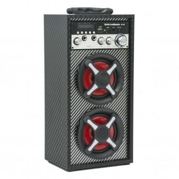 OEM Ασύρματο Φορητό  Ηχείο Με Bluetooth / USB / SD Card / Καραόκε / Τηλεχειριστήριο / FM Radio Κόκκινο (RX-S43)