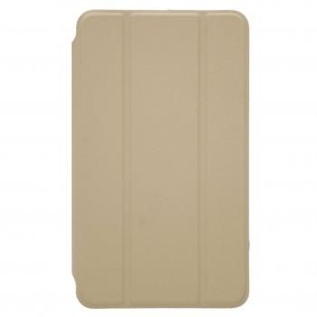 OEM Θήκη Βιβλίο - Σιλικόνη Flip Cover Για Apple iPad 9.7'' (2017-18) Χρυσό