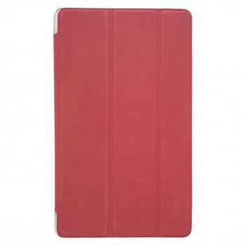 OEM Θήκη Βιβλίο - Σιλικόνη Flip Cover Για Apple iPad 9.7'' (2017-18) Κόκκινο