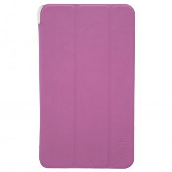 BWOO Θήκη Βιβλίο - Σιλικόνη Flip Cover Για  Apple IPAD 4 Φούξια