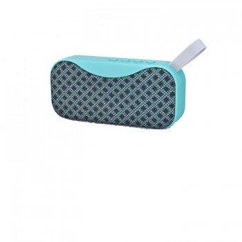 oem bs-115 Bluetooth 4.2 Φορητό ηχείο με usb, κάρτα μνήμης και aux in γαλαζοπρασινο