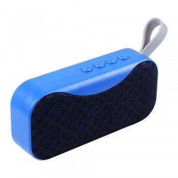 oem bs-115 Bluetooth 4.2 Φορητό ηχείο με usb, κάρτα μνήμης και aux in μπλε