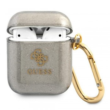 Guess case for AirPods 3 GUA3UCG4GK black Glitter Collection