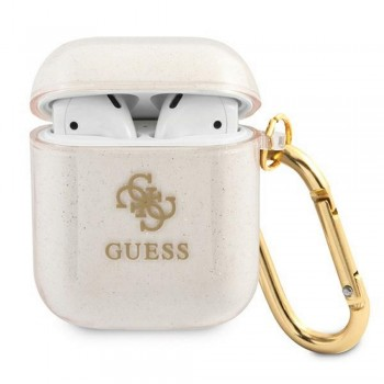 Guess case for AirPods 3 GUA3UCG4GD gold Glitter Collection