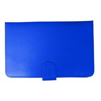 OEM Θήκη Universal Για Tablet 7'' keyboard Μπλε