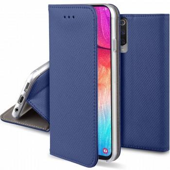 Oem Θήκη Βιβλίο Smart Magnet Για Samsung Galaxy A02s Μπλε