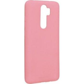 Oem Soft Matt Case Gel TPU Cover 2.0mm Για Xiaomi Redmi 9 Ροζ BOX