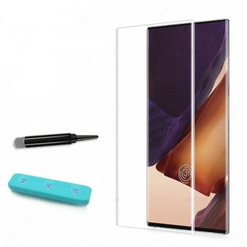 Oem Curved Liquid UV Tempered Glass With UV NanoScale Light Για Samsung Galaxy Note 20 / Note 20 5G